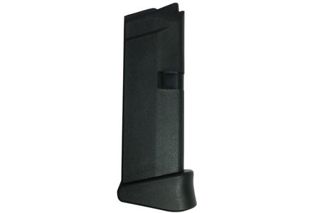GLOCK 43 9MM 6 ROUND MAGAZINE W/ EXTENSION