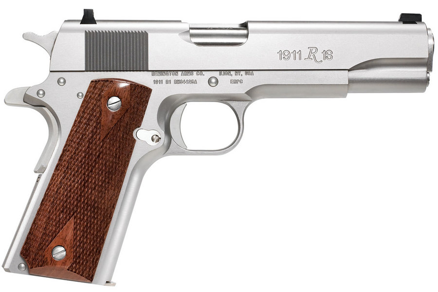 No. 12 Best Selling: REMINGTON 1911 R1 STAINLESS 45 ACP PISTOL