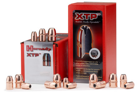 HORNADY 9MM .355 90 GR HOLLOW POINT XTP 100/BOX