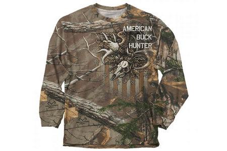 AMERICAN BUCK HUNTER L/S TEE