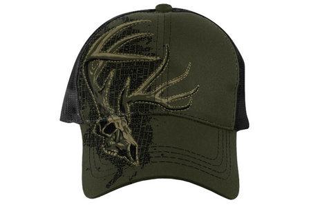 SIDE PROFILE SKULL SOLID CAP