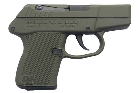 P-3AT 380 ACP CERAKOTE OD GREEN PISTOL