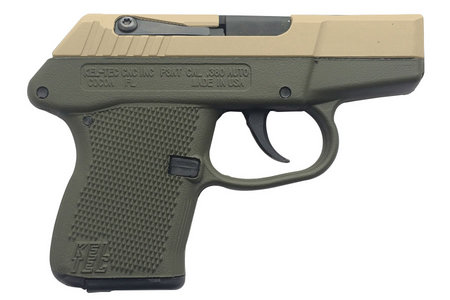 P-3AT .380ACP CERAKOTE TAN/ODG PISTOL