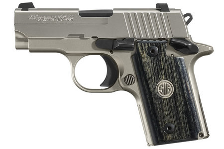 P238 HD NICKEL 380 ACP WITH NIGHT SIGHTS