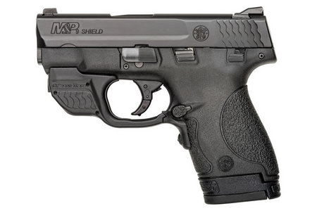 SMITH AND WESSON MP9 SHIELD 9MM GREEN CRIMSON TRACE