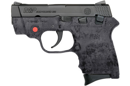 SMITH AND WESSON MP BODYGUARD 380 KRYPTEK WITH LASER