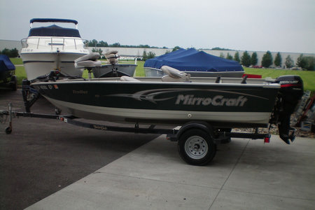 2006 MIRROCRAFT W/9.9  TRAILER