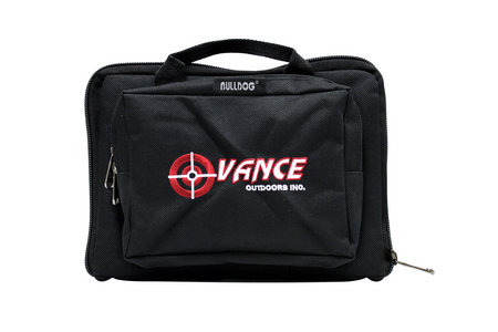 MINI BLK RANGE BAG WITH VANCES LOGO