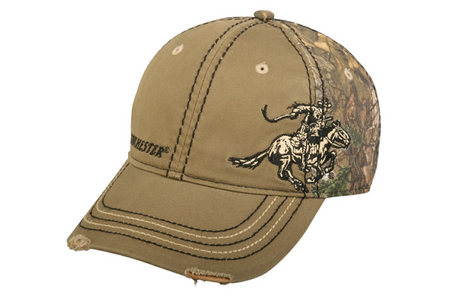 WINCHESTER EMB LOGO SOLID FRONT CAP