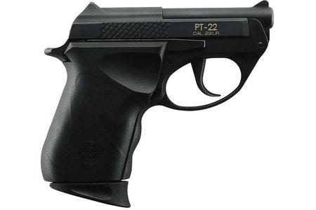 Taurus PT-22 22LR Compact Black Pistol
