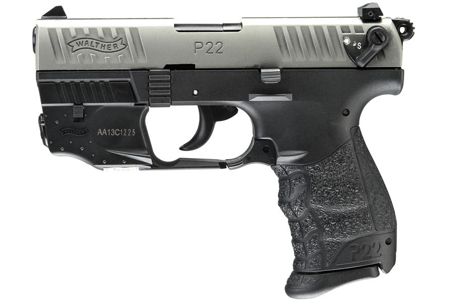 walther p22 nickel 22lr rimfire pistol with laser vance outdoors walther 22 manual colt walther 1911 22 manual