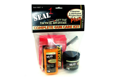4 OZ COMPLETE TACTICAL GUN CARE KIT