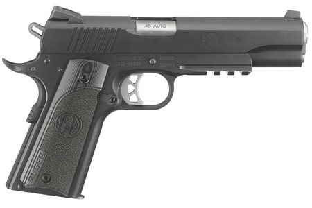 RUGER SR1911 .45ACP WITH G10 GRIPS AND RAIL