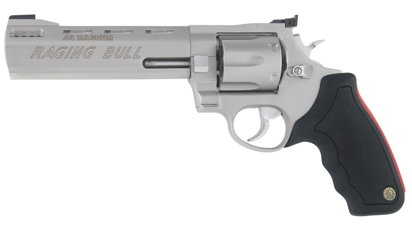 Model 444 Raging Bull  44 Magnum Stainless Revolver (6 5-inch Barrel)
