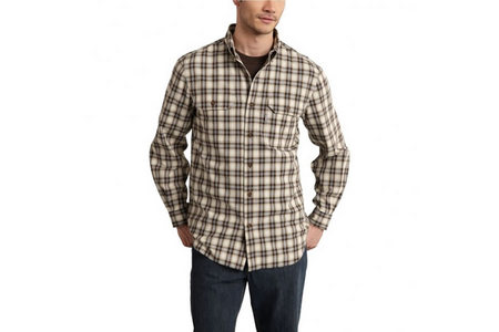 FORT PLAID LS SHIRT