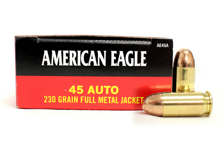 FEDERAL AMMUNITION .45 ACP 230 gr FMJ Police-Trade Ammunition 50/Box
