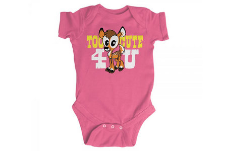 INFANT TOO CUTE 4 U BODYSUIT
