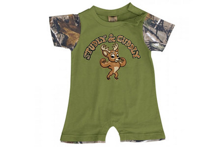 INFANT STUDLY  CUDDLY ROMPER
