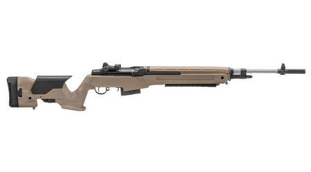 M1A LOADED 308 FDE WITH STAINLESS BARREL