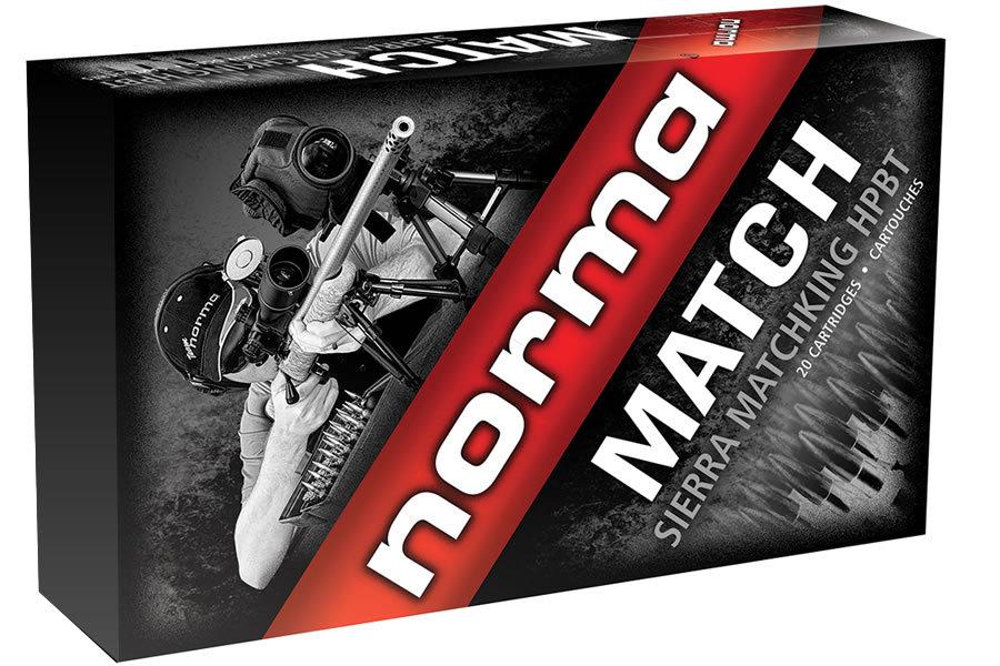 norma usa 308 win 168 gr hpbt match 20 box sportsman s outdoor