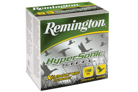 Remington 12 Ga 3 1/2 in 1 3/8 oz #4 Shot HyperSonic Steel 25/Box