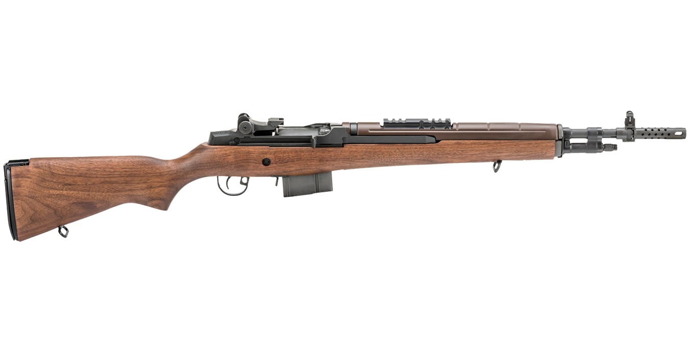 Springfield M1a Scout Squad 308 With Walnut Stock