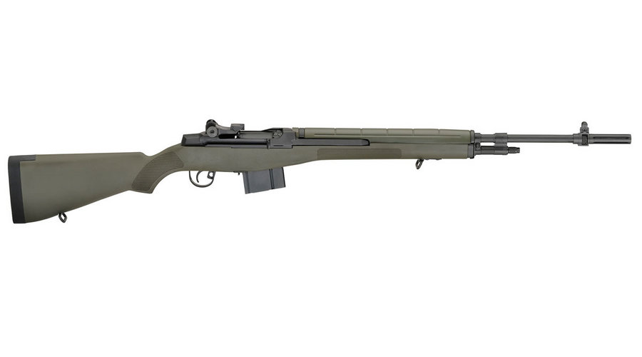 Springfield M1a Standard 308 With Od Green Composite Stock