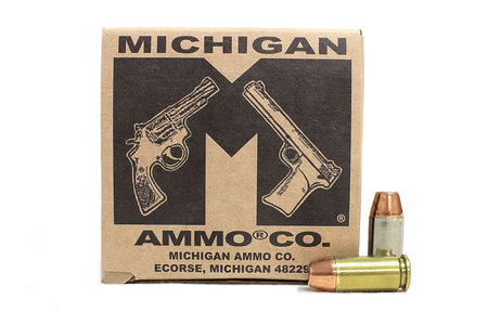 MICHIGAN AMMO CO 40SW 165 gr TMJ Remanufactured Police Trade 50/Box