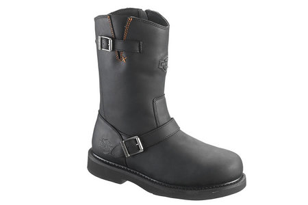 "JASON 12"" SIDE ZIP BOOT"