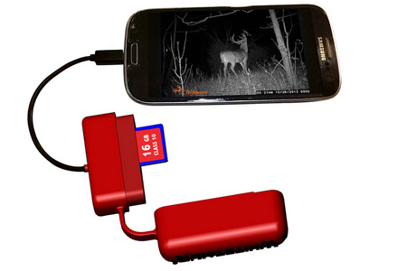 ANDRIOD PHONE SD CARD READER