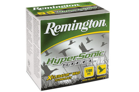 Remington 12 Ga 3 in 1 1/4 oz  #4 Shot Hypersonic Steel 25/Box