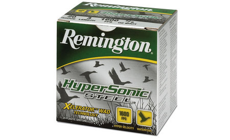 Remington 20 Ga 3 in 7/8 oz #4 Shot HyperSonic Steel 25/Box