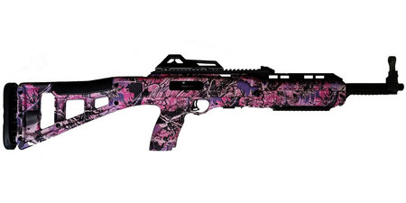 HI POINT 995TS 9mm Carbine with Muddy Girl Camo Finish