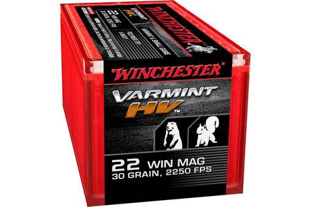 Winchester 22 WMR 30 gr Power Tip V-Max Varmint HV 50/Box
