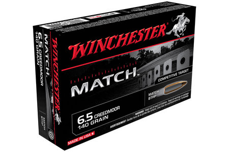 Winchester 6.5 Creedmoor 140 gr BTHP Match 20/Box