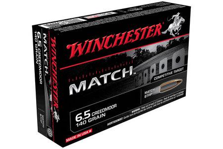 WINCHESTER AMMO 6.5 Creedmoor 140 gr BTHP Match 20/Box