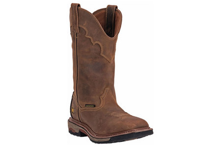 MEN`S BLAYDE BOOTS IN SADDLE TAN WELL