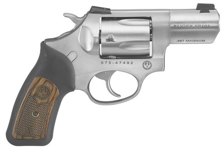 SP101 357 MAG WILEY CLAPP REVOLVER