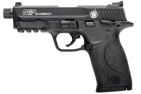 SMITH AND WESSON MP22 COMPACT 22LR SUPPRESSOR READY