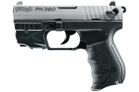 WALTHER PK380 380 ACP NICKEL WITH LASER