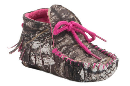 GIRLS CAMO BOOTIE