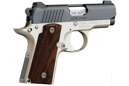 Kimber Micro Carry Rosewood Two-Tone 380 Auto Carry Conceal Pistol