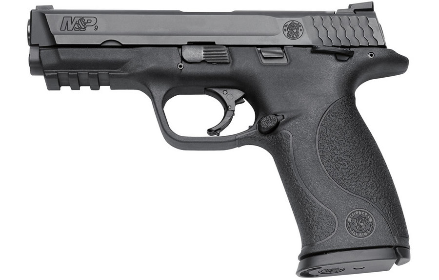 SMITH AND WESSON MP9 9MM FULL SIZE THUMB SAFETY