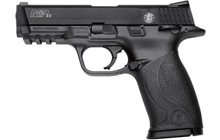 SMITH AND WESSON MP22 22LR WITH TACTICAL RAIL