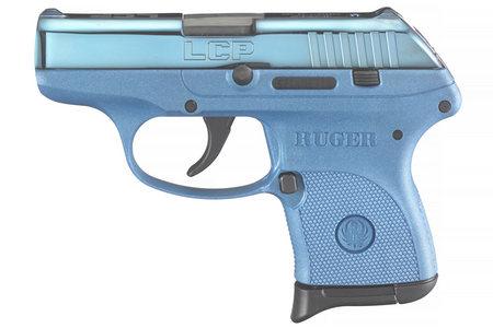 LCP 380 ACP W/ BLUE COLOR CASED SLIDE