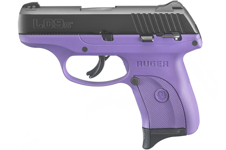 RUGER LC9S 9MM LUGER PURPLE TALO PISTOL