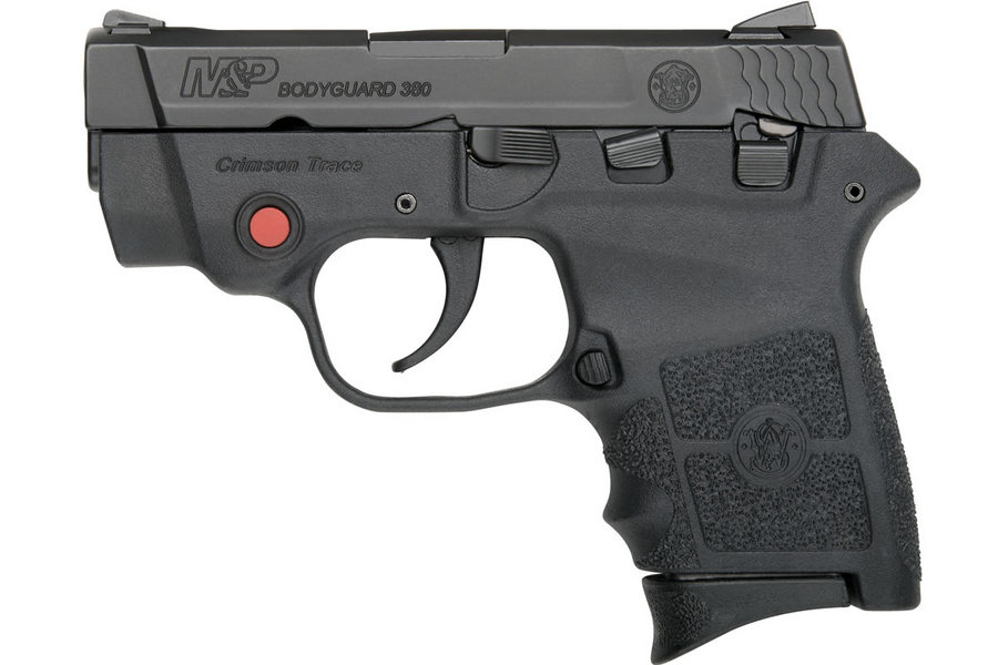 MP BODYGUARD 380 W/ CRIMSON TRACE LASER