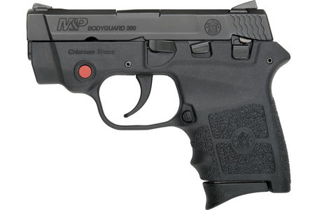 SMITH AND WESSON MP BODYGUARD 380 W/ CRIMSON TRACE LASER