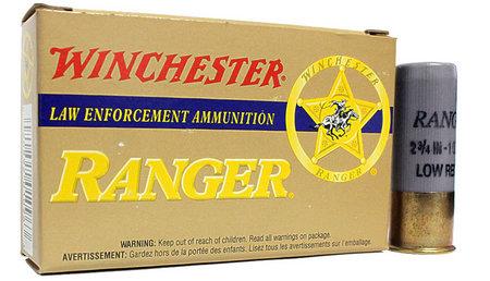 WINCHESTER AMMO 12 Gauge 2 3/4 in 1oz Ranger Rifled Slug Low Recoil Trade Ammo 5/Box