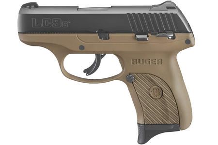 RUGER LC9S 9MM LUGER FLAT DARK EARTH PISTOL